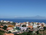Beautiful town in La Gomera's north