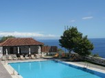 Fantastic panorama pool in the Hotel Parador Gomera