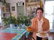 Dona Efigenia in her Restauant La Montana in Las Hayas