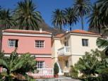 Holiday house Casa Calixto with palmtrees in Casa de la Seda in Valle Gran Rey